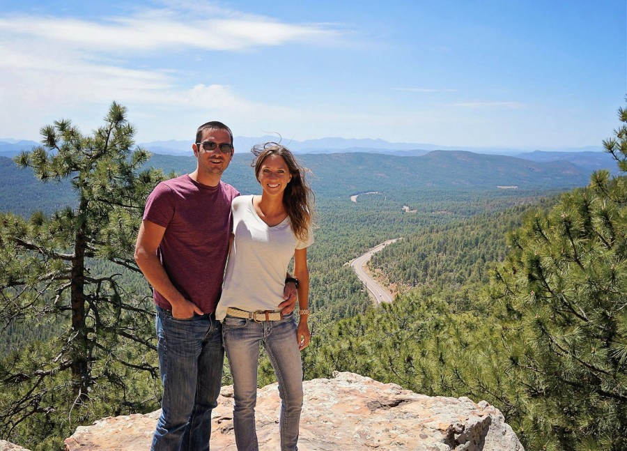 Matt  & Jessica in Payson