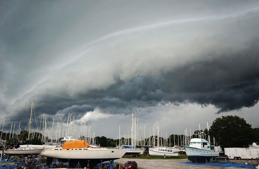 summer storms in Florida