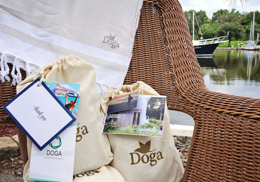 Doga brand antimicrobial turkish towels