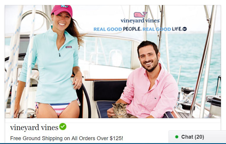 Vineyard Vines on Facebook