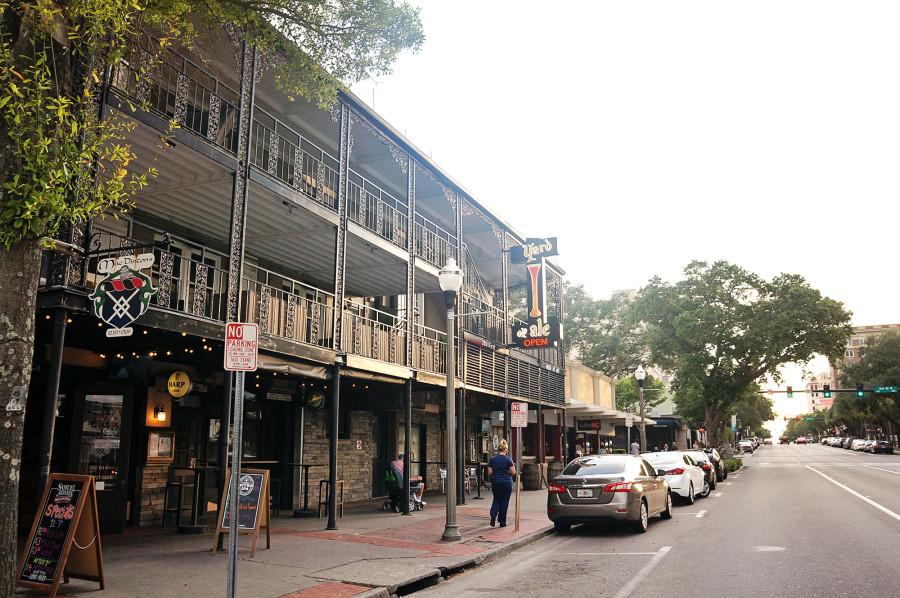 restaurant area of St. Petersburg Florida