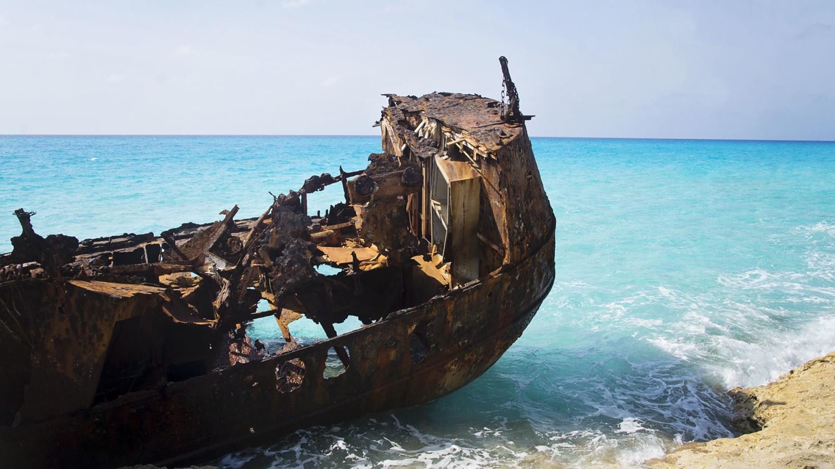 shipwreck Bahamas