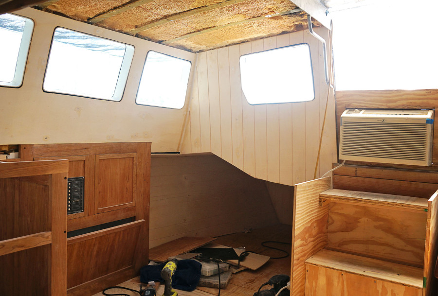 pilot house bare wood