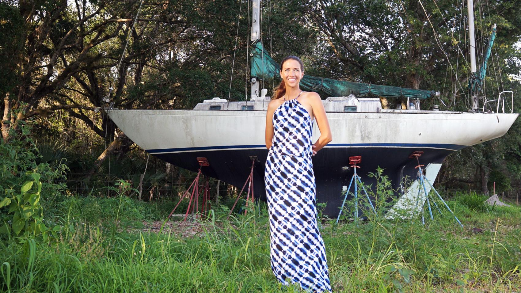 Vacay Style Ikat dress